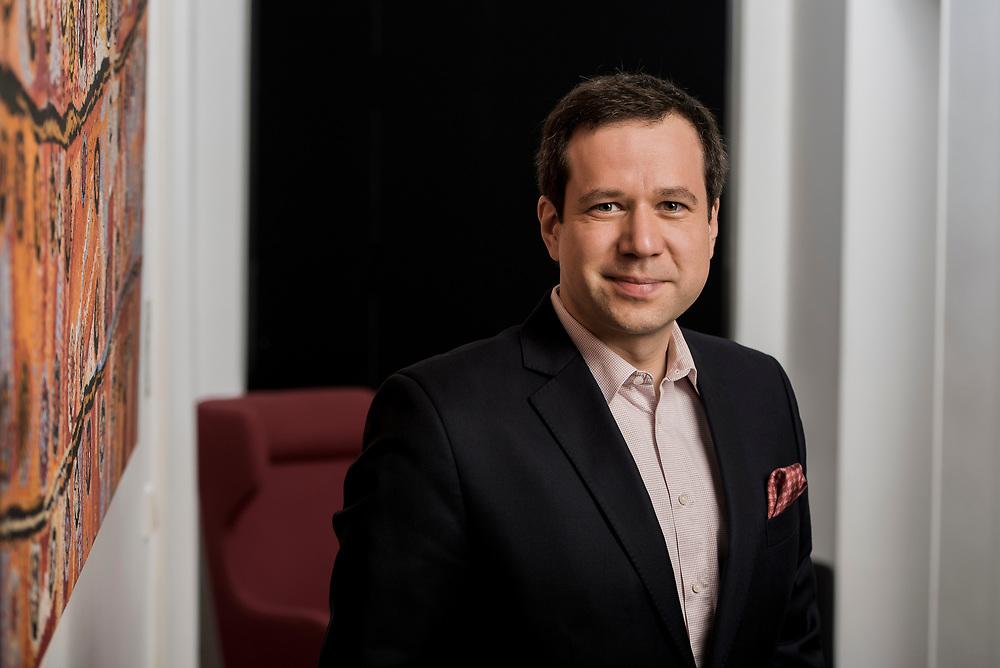 Luxembourg - 7 November 2017 <br /> Stanislav Pavlin - Chairman of the Board, Machavert Pharmaceuticals.<br /> Photo: Ezequiel Scagnetti