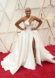 Cynthia Erivo at the 92nd Academy Awards held at the Dolby Theatre in Hollywood, USA on February 9, 2020.
