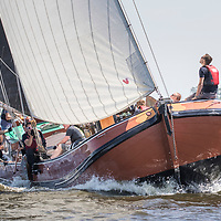 Slach om Heech. Skûtsjes van de IFKS strijden 2 dagen op het Hegermeer om het Zwaard van Grutte Pier