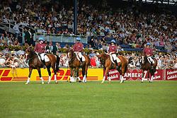 Opening ceremony<br /> Vlaamse fokkerij van paarden<br /> Vlaanderen partnerland 2009<br /> CHIO Aachen 2009<br /> Photo © Dirk Caremans