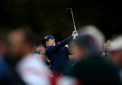 Matthew Fitzpatrick during day two of the British Masters at Walton Heath Golf Club, Surrey.