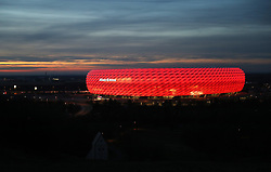 09.02.2020, Allianz Arena, Muenchen, GER, 1. FBL, FC Bayern Muenchen vs RB Leipzig, 21. Runde, im Bild Allianz Arena // before the German Bundesliga 21th round match between FC Bayern Muenchen and RB Leipzig at the Allianz Arena in Muenchen, Germany on 2020/02/09. EXPA Pictures © 2020, PhotoCredit: EXPA/ SM<br /> <br /> *****ATTENTION - OUT of GER*****
