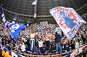 DESCRIZIONE : Bologna LNP A2 2015-16 Eternedile Bologna De Longhi Treviso<br /> GIOCATORE : <br /> CATEGORIA : Tifosi Fans Supporters Panoramica Composizione Striscione Esultanza Pubblico<br /> SQUADRA : Eternedile Bologna<br /> EVENTO : Campionato LNP A2 2015-2016<br /> GARA : Eternedile Bologna De Longhi Treviso<br /> DATA : 15/11/2015<br /> SPORT : Pallacanestro <br /> AUTORE : Agenzia Ciamillo-Castoria/A.Giberti<br /> Galleria : LNP A2 2015-2016<br /> Fotonotizia : Bologna LNP A2 2015-16 Eternedile Bologna De Longhi Treviso