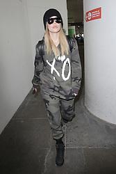 Khloe Kardashian seen arriving at LAX in Los Angeles.<br /><br />12 May 2017.<br /><br />Please byline: Vantagenews.com