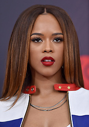 2018 iHeartRadio Music Awards. The Forum, Inglewood, California. Pictured: Marshmello. EVENT March 11, 2018. 11 Mar 2018 Pictured: Serayah McNeill. Photo credit: AXELLE/BAUER-GRIFFIN/MEGA TheMegaAgency.com +1 888 505 6342