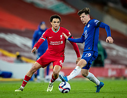 LIVERPOOL, ENGLAND - Thursday, March 4, 2021: Liverpool's Trent Alexander-Arnold during the FA Premier League match between Liverpool FC and Chelsea FC at Anfield. Chelsea won 1-0 condemning Liverpool to their fifth consecutive home defeat for the first time in the club's history. (Pic by David Rawcliffe/Propaganda)