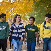 George Mason University Campus, Fairfax, VA. For INTO Partnerships and GMU