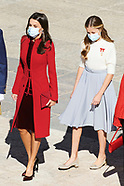 101220 Spanish Royals Attend The National Day Military Parade