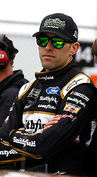 February 10, 2019 - Daytona, FL, U.S. - DAYTONA, FL - FEBRUARY 10: Aric Almirola, Stewart-Haas Racing, Ford Mustang Smithfield (10) during qualifying for the 61st annual Daytona 500 on February 10, 2019 at Daytona International Speedway in Daytona Beach, Florida  (Photo by Jeff Robinson/Icon Sportswire) (Credit Image: © Jeff Robinson/Icon SMI via ZUMA Press)