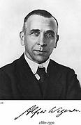 Alfred Lothar Wegener (1880-1930) German geophysicist and meteorologist. Continental Drift (Wegener Hypothesis: 1915).