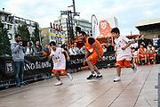 Basketball: ING-DiBa German Championship 3x3, Deutsche Meisterschaft, Hamburg, 05.08.2017<br /> Spielszene<br /> (c) Torsten Helmke
