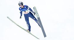 11.01.2014, Kulm, Bad Mitterndorf, AUT, FIS Ski Flug Weltcup, Bewerb, im Bild Lukas Hlava (CZE) // Lukas Hlava (CZE) during the FIS Ski Flying World Cup at the Kulm, Bad Mitterndorf, Austria on <br /> 2014/01/11, EXPA Pictures © 2014, PhotoCredit: EXPA/ JFK