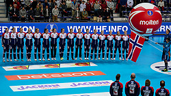 06-12-2019 JAP: Norway - Netherlands, Kumamoto<br /> Last match groep A at 24th IHF Women's Handball World Championship. / The Dutch handball players won in an exciting game of fear gegner Norway and wrote in the last group match at the World Handball  World Championship history (30-28). / Team Norway