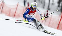 04.02.2011, Arber Zwiesel, GER, FIS World Cup Ski Alpin, Lady, Slalom, im Bild Nicole Gius (ITA, #21) // Nicole Gius (ITA) // during FIS Ski Worldcup ladies Slalom at Arber Zwiesel, Germany on 04/02/2011. EXPA Pictures © 2011, PhotoCredit: EXPA/ R. Hackl