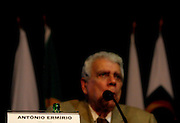 Belo Horizonte_MG, Brasil...Congresso da Associacao Brasileira de Metalurgia e Materiais (ABM). Na foto o empresario Antonio Ermirio de Moraes...The ABM Congress, Brazilian Metallurgy and Materials Association. In the photo Antonio Ermirio de Moraes...Foto: LEO DRUMOND / NITRO