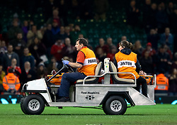 Ellis Jenkins of Wales is stretchered off after the game<br /> <br /> Photographer Simon King/Replay Images<br /> <br /> Under Armour Series - Wales v South Africa - Saturday 24th November 2018 - Principality Stadium - Cardiff<br /> <br /> World Copyright © Replay Images . All rights reserved. info@replayimages.co.uk - http://replayimages.co.uk