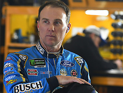 February 23, 2019 - Hampton, GA, U.S. - HAMPTON, GA - FEBRUARY 23: Kevin Harvick, Stewart-Haas Racing, Ford Mustang Busch Beer (4) during practice for the Monster Energy Cup Series QuikTrip Folds of Honor 500 on February 23, 2019, at Atlanta Motor Speedway in Hampton, GA.(Photo by Jeffrey Vest/Icon Sportswire) (Credit Image: © Jeffrey Vest/Icon SMI via ZUMA Press)