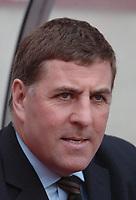 Photo: Ed Godden.<br />Coventry City v Brighton & Hove Albion. Coca Cola Championship. 04/02/2006. <br />Brighton Manager, Mark McGhee.