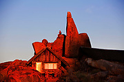 Gondwana Canon Park rooms among the rocks, a 100,000 hectare private reserve. Canon Lodge