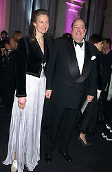 The HON.NICHOLAS SOAMES and his wife SERENA at the Conservative Party's Black & White Ball held at Old Billingsgate, 16 Lower Thames Street, London EC3 on 8th February 2006.<br /><br />NON EXCLUSIVE - WORLD RIGHTS