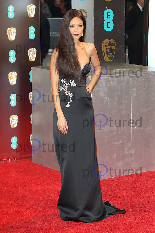 Thandie Newton, The EE British Academy Film Awards (BAFTA), Royal Albert Hall, London UK, 12 February 2017, Photo by Richard Goldschmidt
