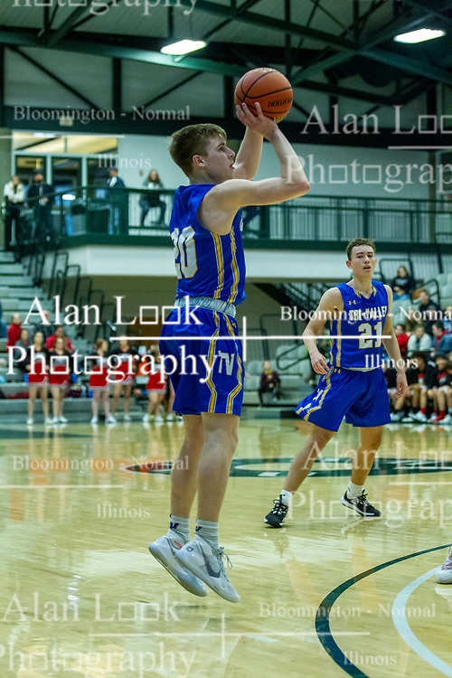21 January 2020: Tri-Valley Vikings v DeeMack (Deer Creek Mackinaw) Chiefs 2nd Round Basketball games during the 109th 2020 McLean County Tournament at Shirk Center in Bloomington IL<br /> <br /> Photo by Alan Look