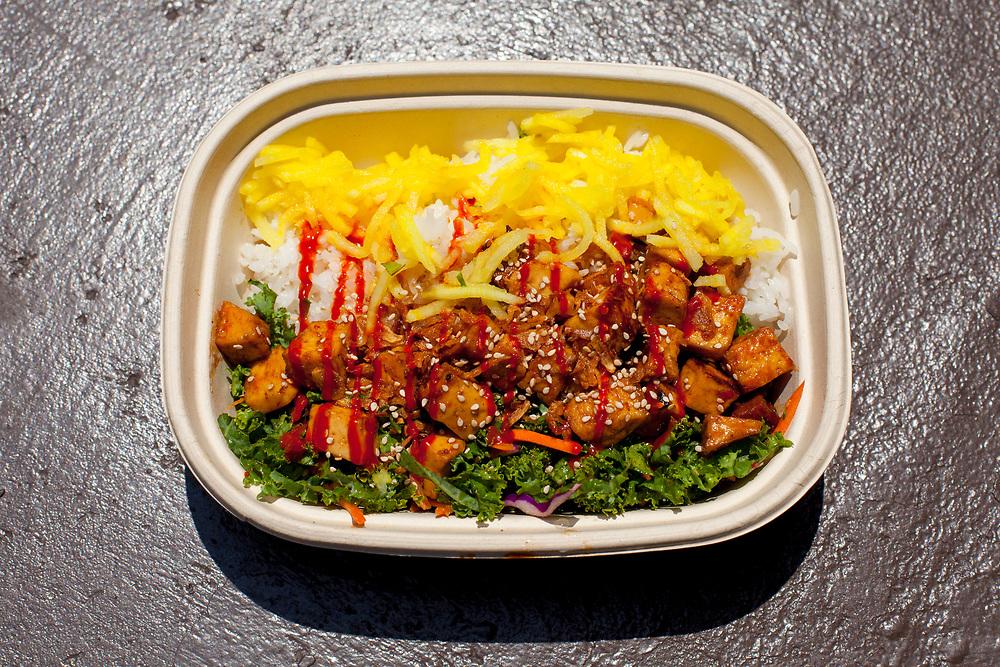 Hoisin Tofu Bowl from TaKorean ($11.24)