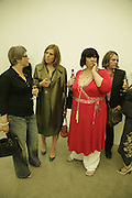 Sue Baldock, Rose Boyt and Sue Tilley, Johnnie Shand Kydd:  book launch party celebrate the publication of Crash.White Cube. Hoxton sq. London. 18 September 2006. ONE TIME USE ONLY - DO NOT ARCHIVE  © Copyright Photograph by Dafydd Jones 66 Stockwell Park Rd. London SW9 0DA Tel 020 7733 0108 www.dafjones.com