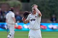 Tom Abell of Somerset during the opening day of the Specsavers County Champ Div 1 match between Somerset County Cricket Club and Surrey County Cricket Club at the Cooper Associates County Ground, Taunton, United Kingdom on 18 September 2018.