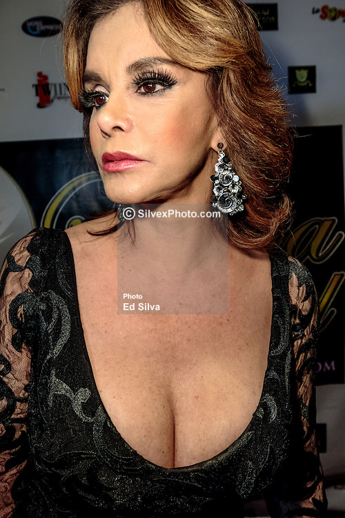 LOS ANGELES, CA - SEPTEMBER 2 Mexican Diva Lucia Mendez attends the purple carpet of Latina International Beauty Convention at The LA Hotel l in downtown Los Angeles on Friday night 2016 September. Byline, credit, TV usage, web usage or linkback must read SILVEXPHOTO.COM. Failure to byline correctly will incur double the agreed fee. Tel: +1 714 504 6870.