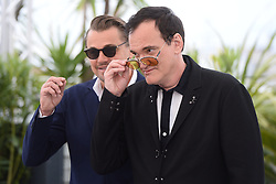 Photocall for film 'Once upon a time in... Holywood'. 22 May 2019 Pictured: Quentin Tarantino, Leonardo Dicaprio. Photo credit: AFPS/MEGA TheMegaAgency.com +1 888 505 6342