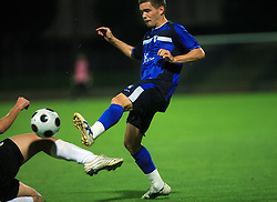 Sebastjan Komel of Gorica during 2nd match of 1st round Intertoto Cup soccer match between ND Gorica and Hibernians FC at Sports park, on June 28,2008, in Nova Gorica, Slovenia. (Photo by Vid Ponikvar / Sportal Images)