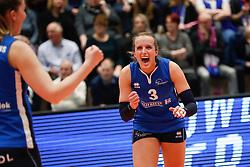 20180218 NED: Bekerfinale Eurosped - Sliedrecht Sport, Hoogeveen <br />Esther Hullegie (3) of Sliedrecht Sport <br />©2018-FotoHoogendoorn.nl