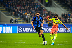 November 6, 2019, Milano, Italy: riyad mahrez (manchester city)during Tournament round, group C, Atalanta vs Manchester City, Soccer Champions League Men Championship in Milano, Italy, November 06 2019 - LPS/Fabrizio Carabelli (Credit Image: © Fabrizio Carabelli/LPS via ZUMA Wire)