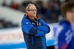 11-12-2016 NED: ISU World Cup Speed Skating, Heerenveen<br /> Coach Jac Orie