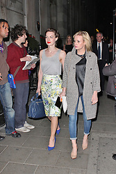 © London News Pictures. 25/06/2013. London, UK.  Jessica Raine & Lauren Crace at the Charlie and the Chocolate Factory - Opening Night After Party . Photo credit: Brett D. Cove/LNP