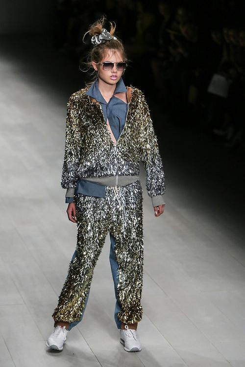 Ashish show during London Fashion Week, Spring/Summer 2013