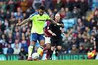 Aston Villa v Derby County - Sky Bet Championship<br /> BIRMINGHAM, ENGLAND - APRIL 28 :  Derby County's Tom Huddlestone plays the ball forward at Villa Park