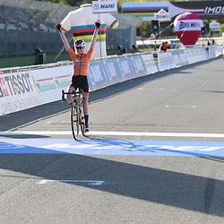 26-09-2020: wielrennen: WK weg vrouwen: Imola <br />Anna van der Breggen takes her 2nd Worldtitle on the road after Innsbruckk 2018
