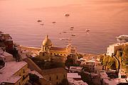 A coastal cathedral in Cinque Terre Italy.