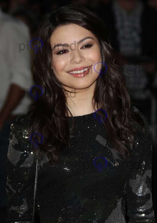Miranda Cosgrove Despicable Me premiere, Empire Cinema, Leicester Square, London, UK, 11 October 2010: For piQtured Sales contact: Ian@Piqtured.com +44(0)791 626 2580 (picture by Richard Goldschmidt)