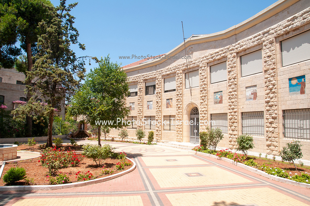 Franciscan Sisters Convent, Jerusalem This building served as the Supreme Military Tribunal headquarters during the British Mandate (pre 1948 era) This is the court that issued death sentences were issued here against fighters from the Hagana, Irgun and Lehi underground movements