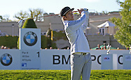 Niall Horan at the BMW PGA Championship Celebrity Pro-Am Challenge at the Wentworth Club, Virginia Water, United Kingdom on 20 May 2015