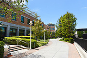 Argyros Forum and Leatherby Libraries on Campus of Chapman University