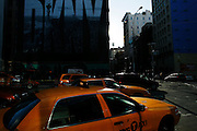 New York, New York. United States. January 20th 2008.Corner Broadway and Houston Street