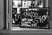 Tango shows are ubiquitous around the Plaza Dorrego, San Telmo.