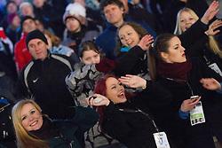 08.01.2012, Stadium Bezigrad, Ljubljana, SLO, EBEL, HDD Telemach Olimpija Ljubljana vs KAC Klagenfurt 40. Runde, in picture spectators during the Erste Bank Ice Hockey League in 40th Round match between HDD Telemach Olimpija Ljubljana and KAC Klagenfurt at the open ice winter classic Stadium Bezigrad, Ljubljana, Slovenia on 2013/01/08. (Photo By Vid Ponikvar / Sportida.com)