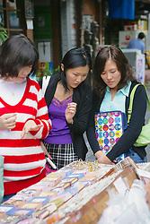 Women Shoping On Street