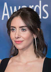 February 17, 2019 - Beverly Hills, California, U.S - Alison Brie in the Press Room of the 2019 Writers Guild Awards at the Beverly Hilton Hotel on Sunday February 17, 2019 in Beverly Hills, California. JAVIER ROJAS/PI (Credit Image: © Prensa Internacional via ZUMA Wire)
