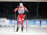 Skiskyting<br /> VM 2015<br /> Kontiolahti - Finland<br /> 05.03.2015<br /> Foto: Gepa/Digitalsport<br /> NORWAY ONLY<br /> <br /> Mix-stafett<br /> IBU World Championships, relay 2x6km ladies and 2x7.5km men, mixed team. Image shows Johannes Thingnes Bø (NOR).